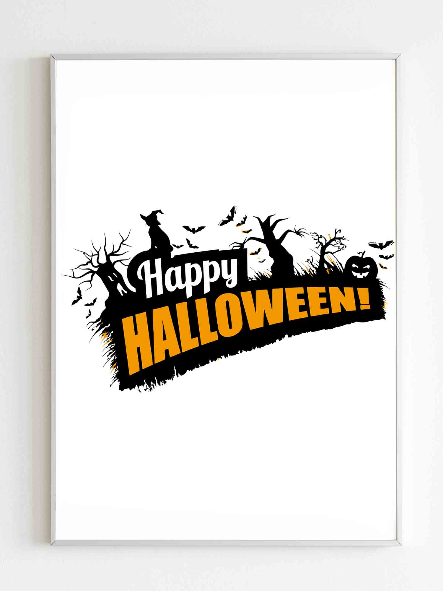 Happy Halloween Poster Poster - Nuu Shirtz