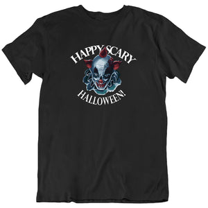 happy scary halloween clown Men's T-Shirt - Nuu Shirtz