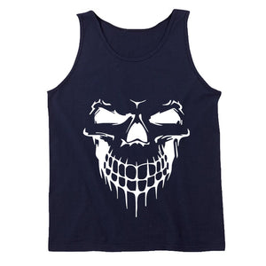 Head Skull Men's Tank Top - Nuu Shirtz