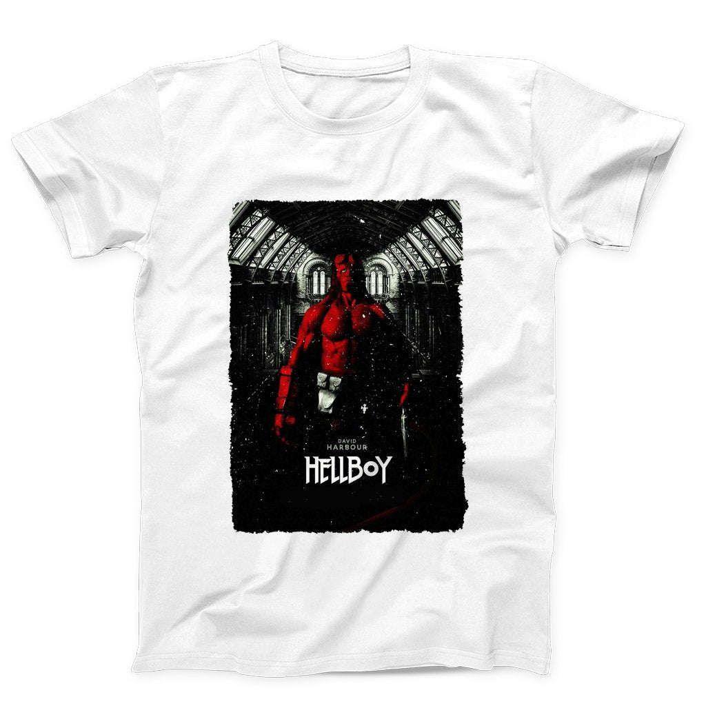 Hellboy David Harbour Poster Men's T-Shirt - Nuu Shirtz