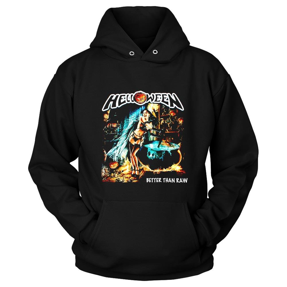 Helloween Better Than Raw Gamma Ray Rage Iron Saviour Unisex Hoodie