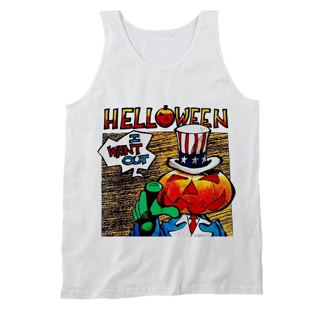Helloween I Want Out Gamma Ray Iron Saviour Rage Masterplan Men's Tank Top - Nuu Shirtz