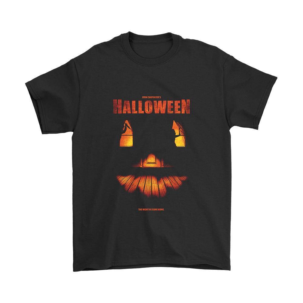 Helloween The Night He Came Home Poster Men's T-Shirt - Nuu Shirtz