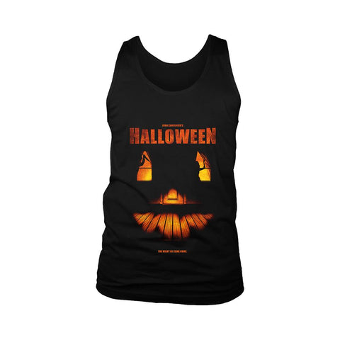 Helloween The Night He Came Home Poster Men's Tank Top