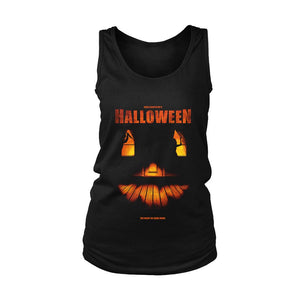 Helloween The Night He Came Home Poster Women's Tank Top