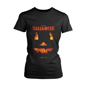 Helloween The Night He Came Home Poster Women's T-Shirt - Nuu Shirtz