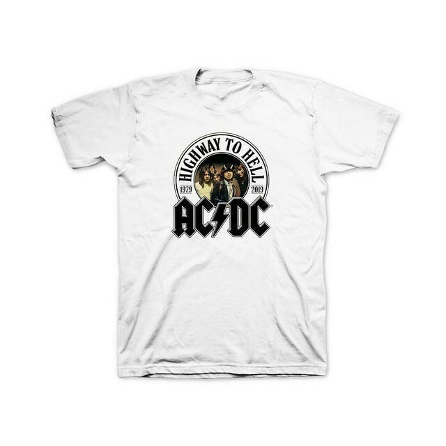 Highway To Hell 40Th Anniversary Acdc Men's T-Shirt - Nuu Shirtz