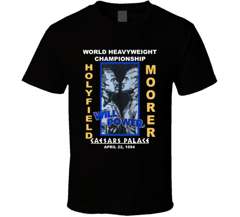 Holyfield Vs Moorer 1994 Fight Boxing T Shirt Men's T-Shirt - Nuu Shirtz