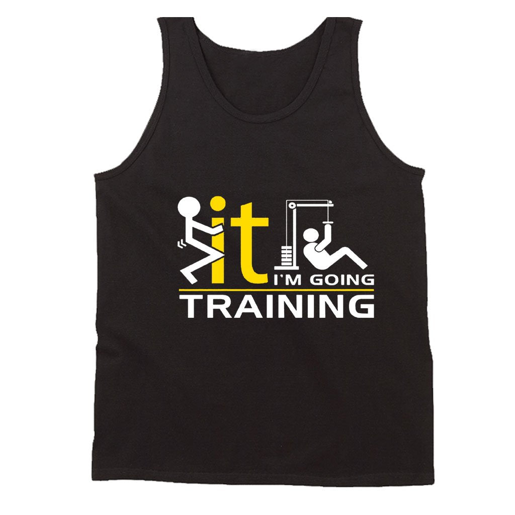 I Am Going Training Men's Tank Top