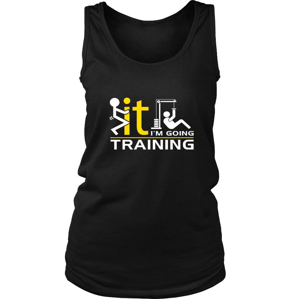 I Am Going Training Women's Tank Top