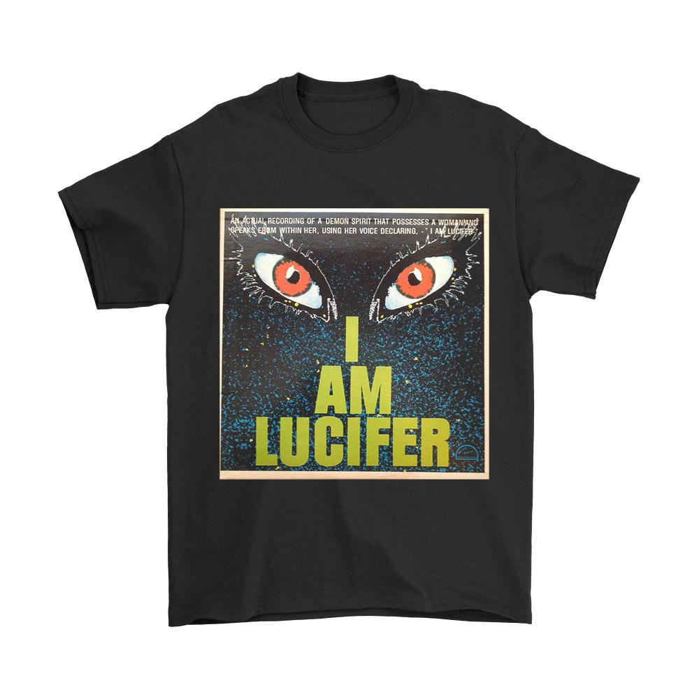 I Am Lucifer Eyes Men's T-Shirt - Nuu Shirtz