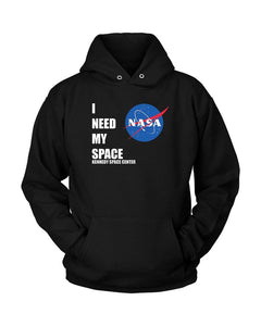 I Need My Space Nasa Unisex Hoodie