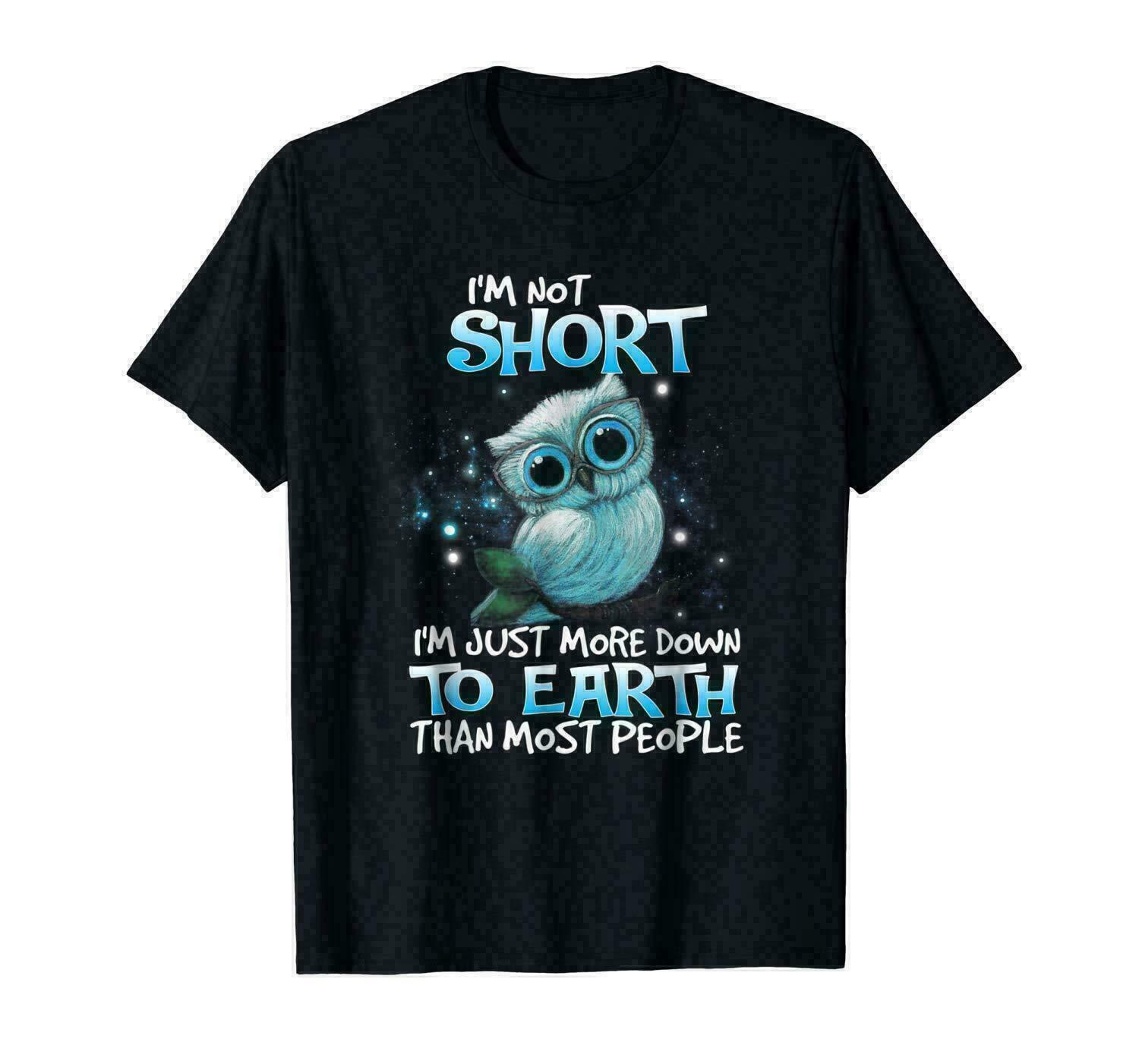 Im Not Short Im Just More Down To Earth Than Most People Men's T-Shirt - Nuu Shirtz