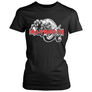 Iron Maiden Number Of The Beast Women's T-Shirt - Nuu Shirtz