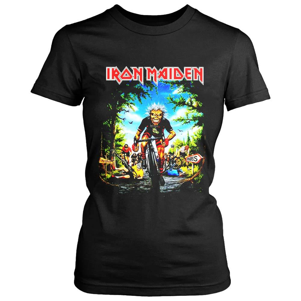 Iron Maiden Tour De Francerare Iron Maiden Women's T-Shirt - Nuu Shirtz