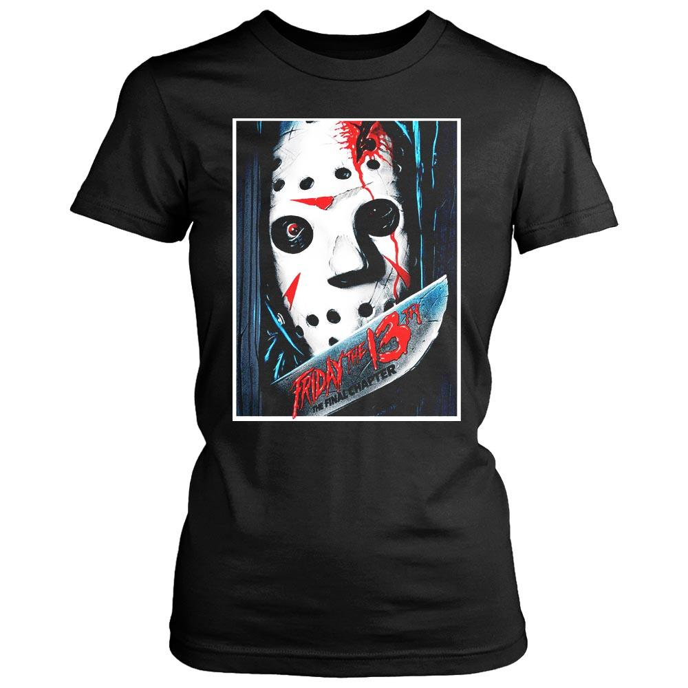 Jason Voorhees The Final Chapter Women's T-Shirt - Nuu Shirtz