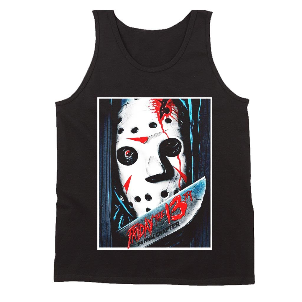 Jason Voorhees The Final Chapter Men's Tank Top - Nuu Shirtz