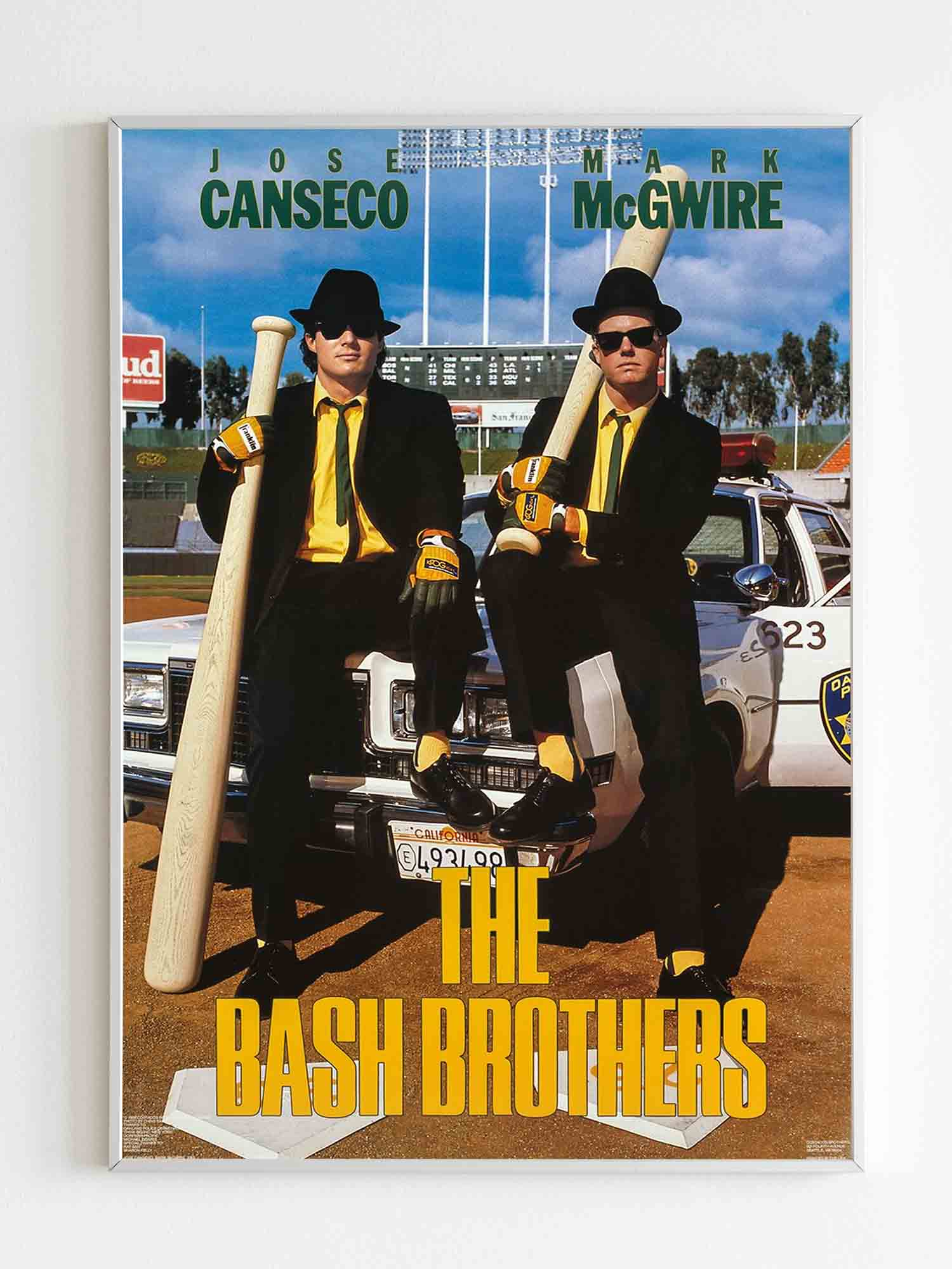 Jose Canseco & Mark Mcgwire 1988 Poster - Nuu Shirtz