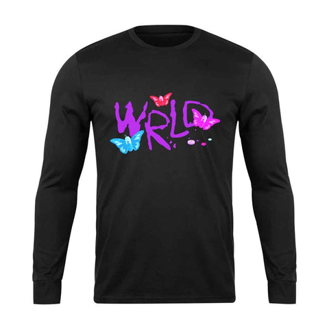 Juice Wrld Druggerfly Long Sleeve T-Shirt - Nuu Shirtz
