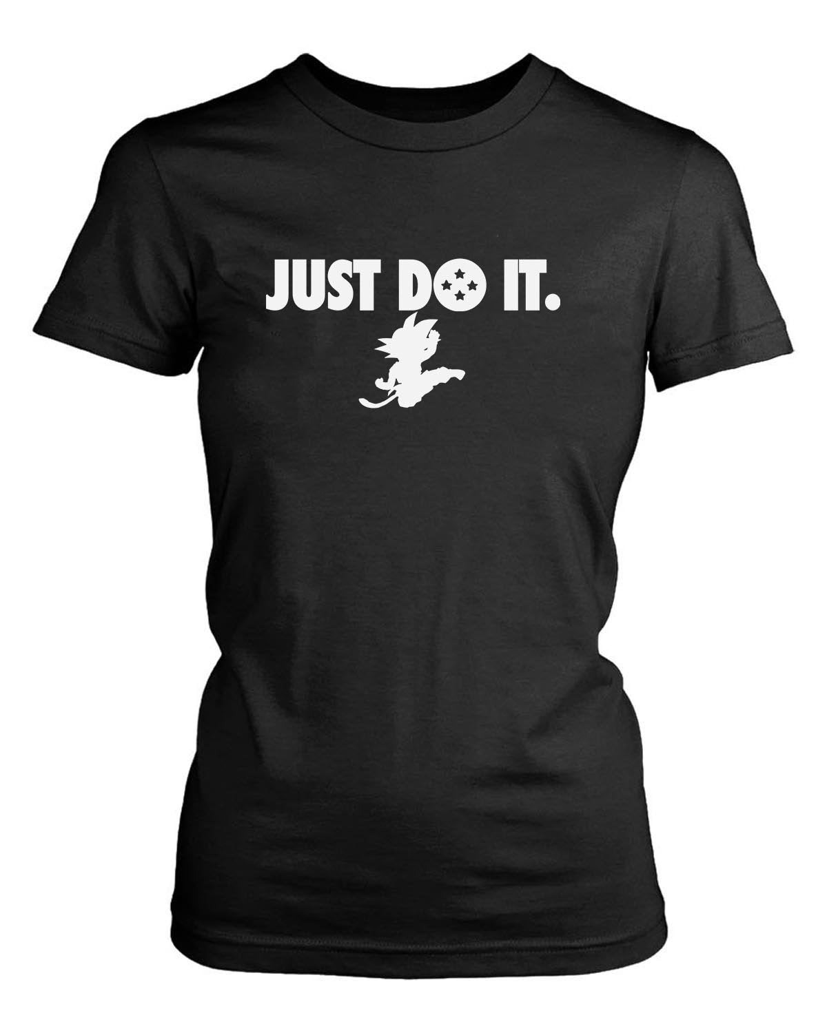 Just Do It Goku Dragon Ball Anime Manga Women'S T-Shirt