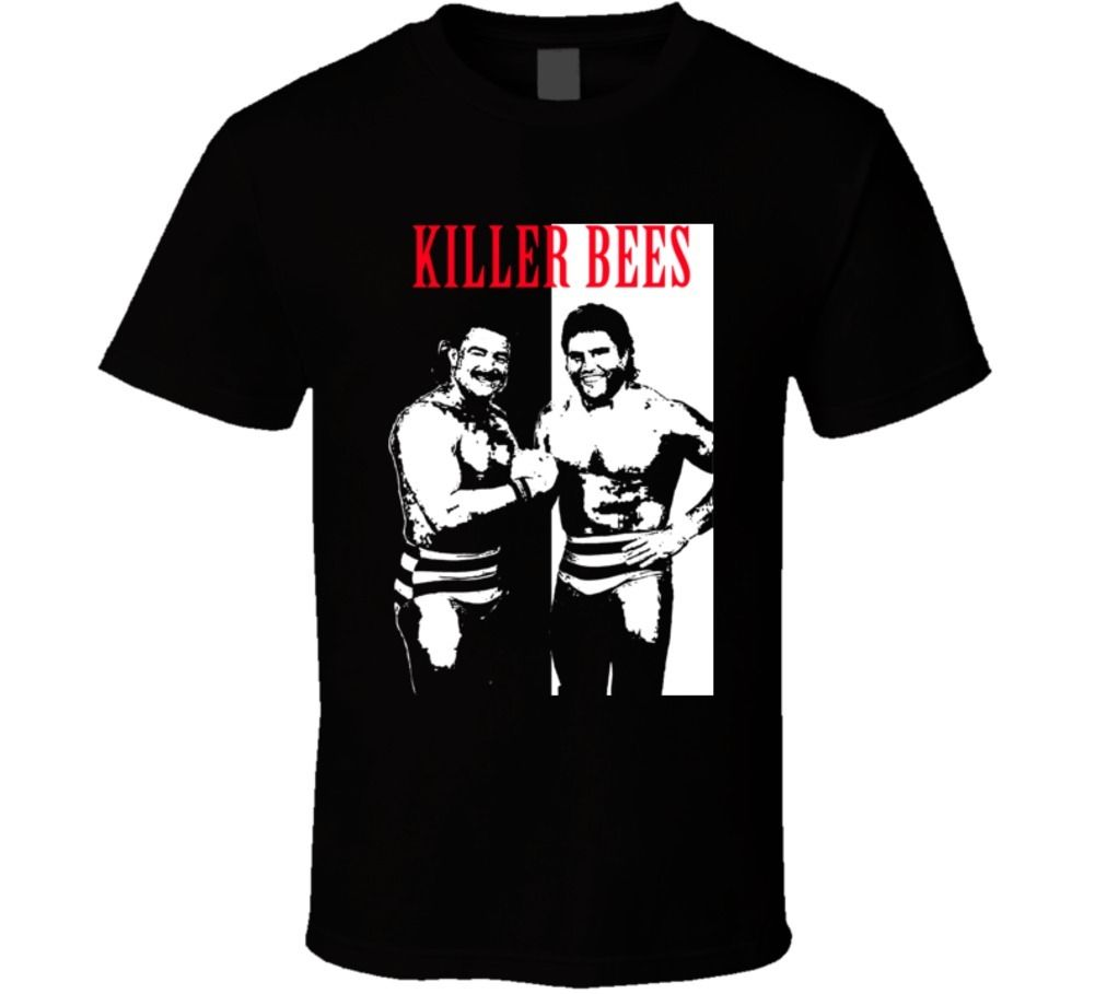 Killer Bees Wrestling Legends Men's T-Shirt - Nuu Shirtz