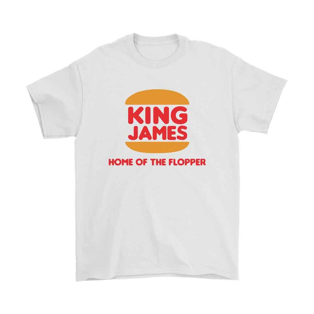 King James Home Of The Flopper Men'S T-Shirt