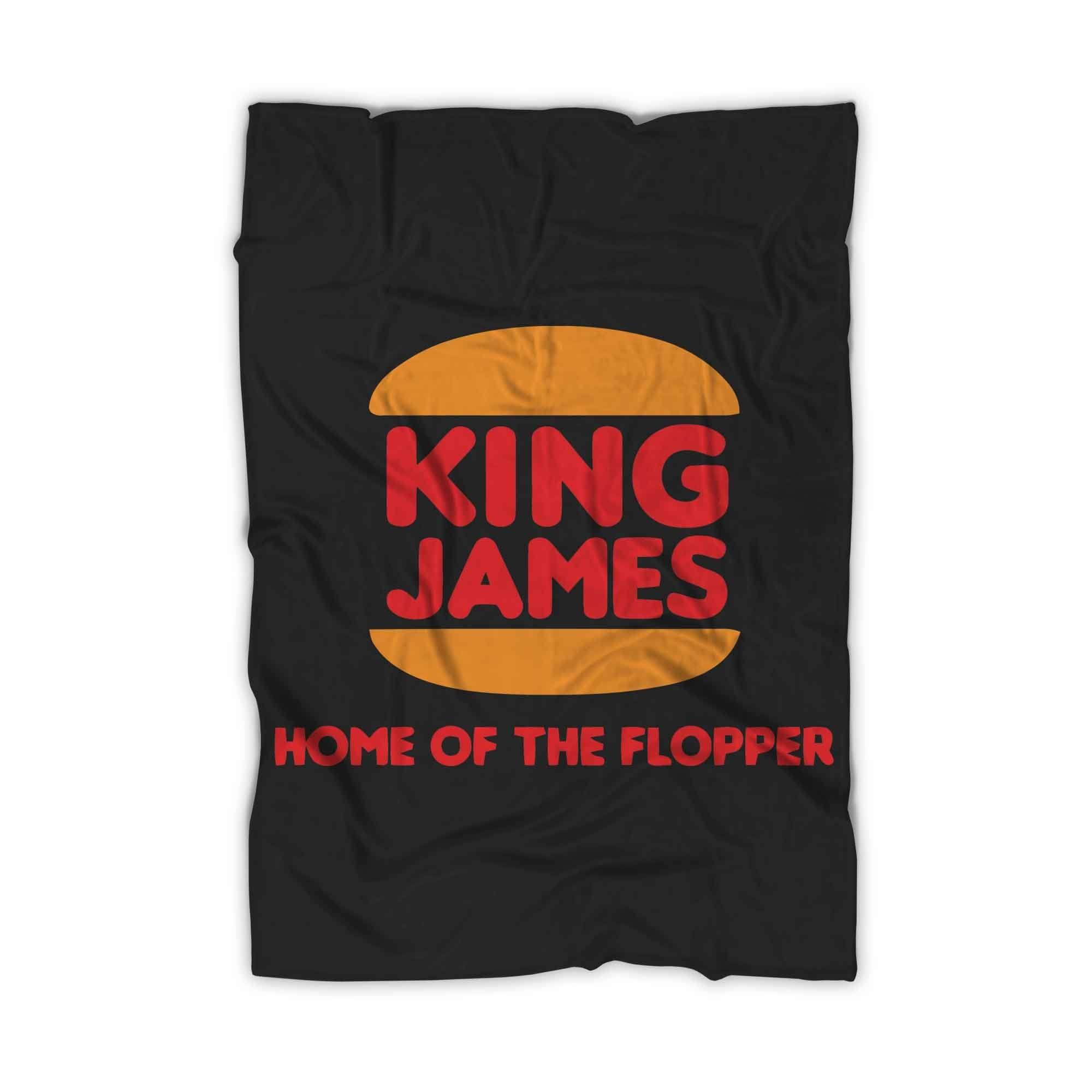 King James Home Of The Flopper Blanket