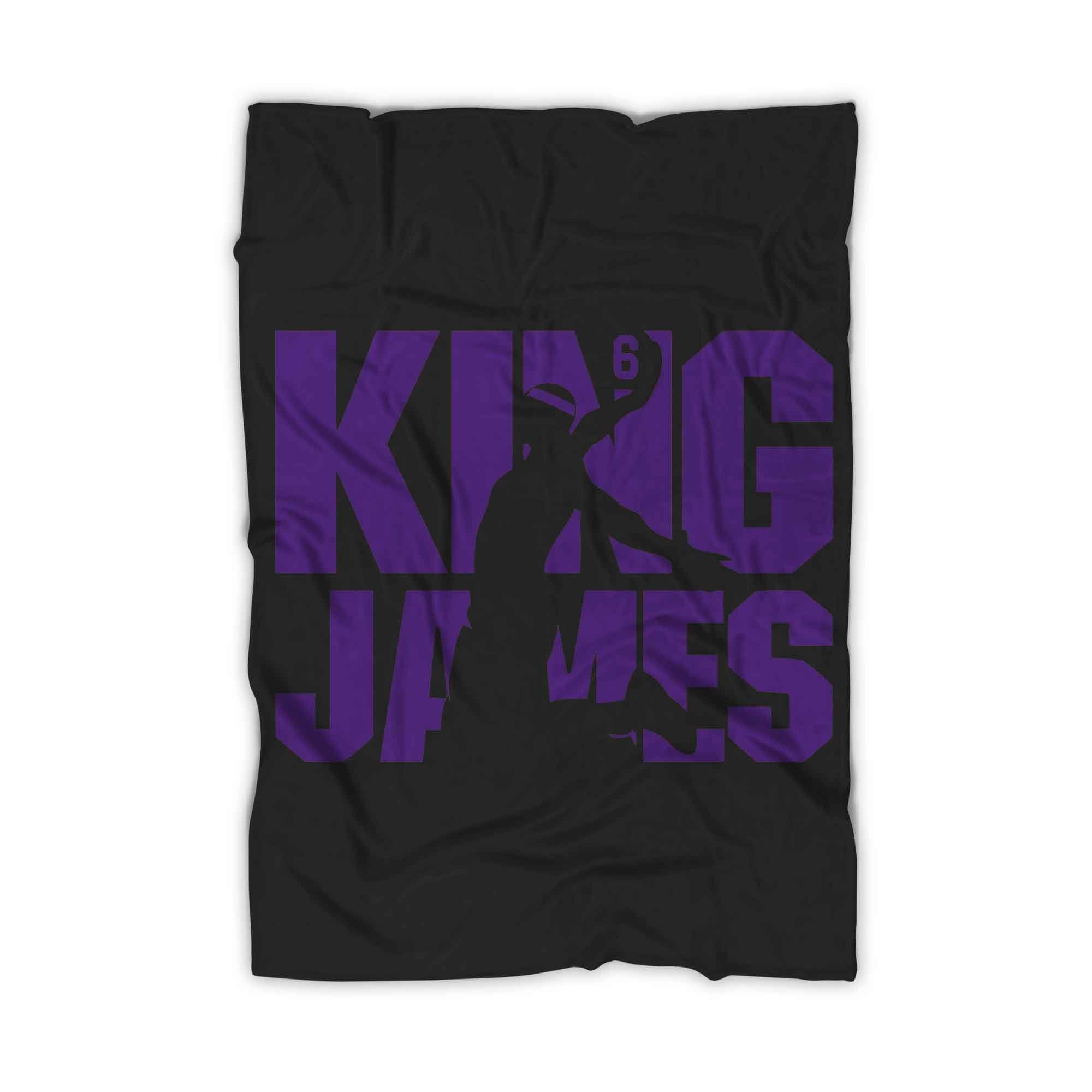 King James Lebron James Blanket