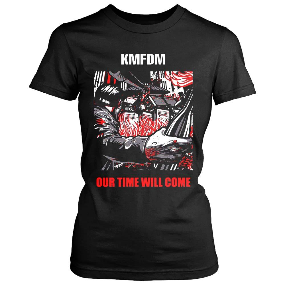 Kmfdm Our Time Will Come Poster Women's T-Shirt - Nuu Shirtz