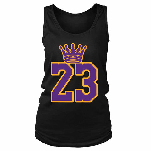 La Bron Pullover Lakers Women's Tank Top - Nuu Shirtz