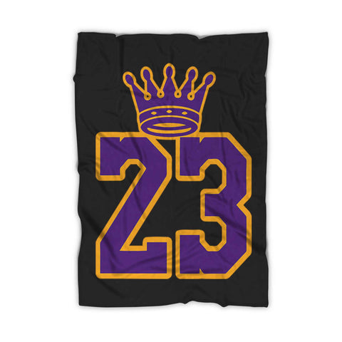 La Bron Pullover Lakers Fleece Blanket
