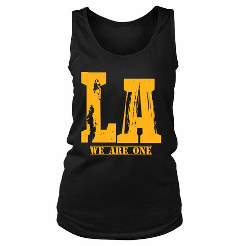 La We Are One Lakers Women's Tank Top - Nuu Shirtz