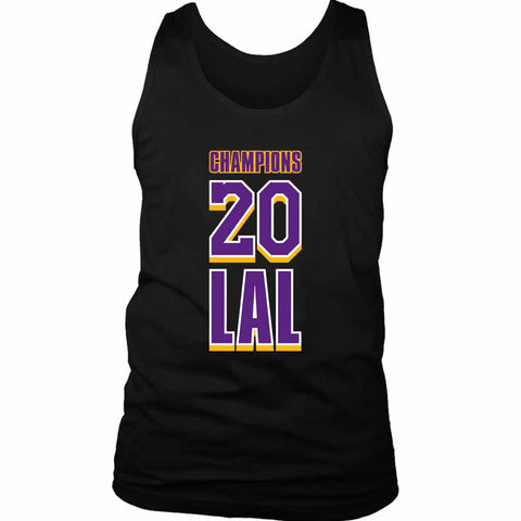 Lal 2020 Champions Of The World Lakers Men's Tank Top - Nuu Shirtz