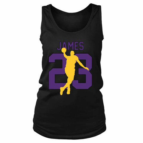 Lbj 23 Lakers Women's Tank Top - Nuu Shirtz