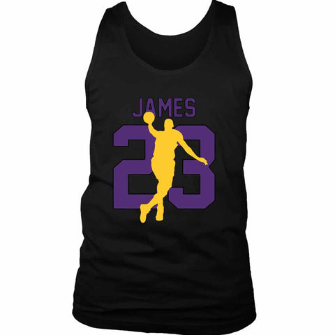 Lbj 23 Lakers Men's Tank Top - Nuu Shirtz