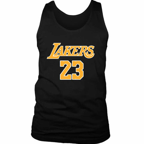Lebron James La Lakers Lakers Men's Tank Top - Nuu Shirtz