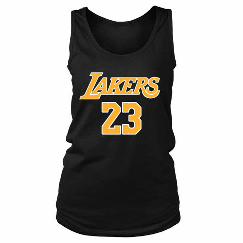 Lebron James La Lakers Lakers Women's Tank Top - Nuu Shirtz