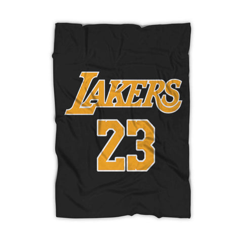 Lebron James La Lakers Lakers Fleece Blanket