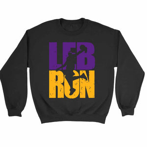 Lebron James Lakers Colors Dunking Lakers Sweatshirt Sweater - Nuu Shirtz