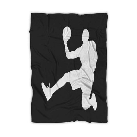 Lebron James Nba Lakers Fleece Blanket