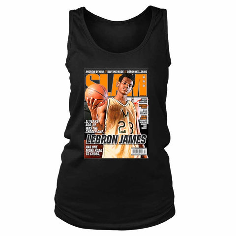 Lebron James Slam Lakers Women's Tank Top - Nuu Shirtz
