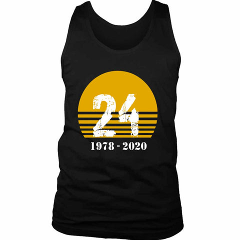 Legend Kobe Bryant King Rip 1978 2020 Lakers Men's Tank Top - Nuu Shirtz