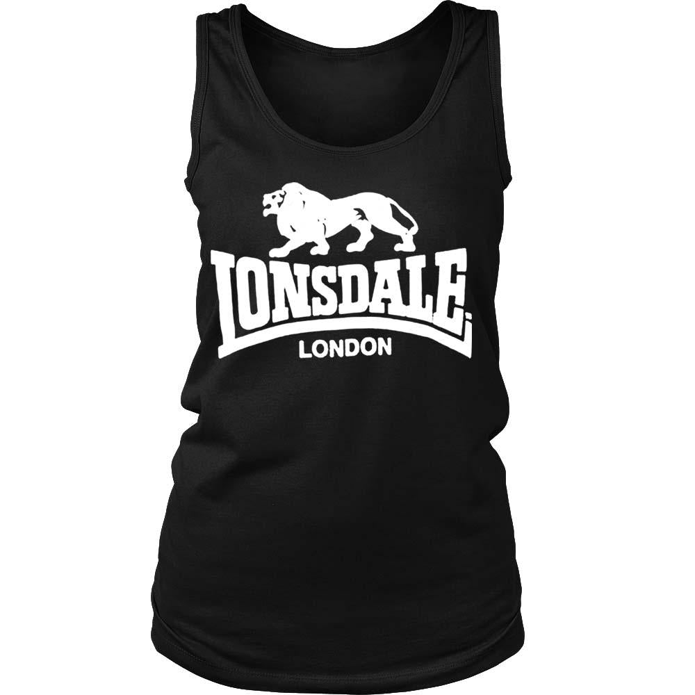 Lonsdale London Women's Tank Top - Nuu Shirtz