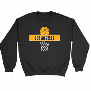 Los Angeles A Line Lakers Sweatshirt Sweater - Nuu Shirtz
