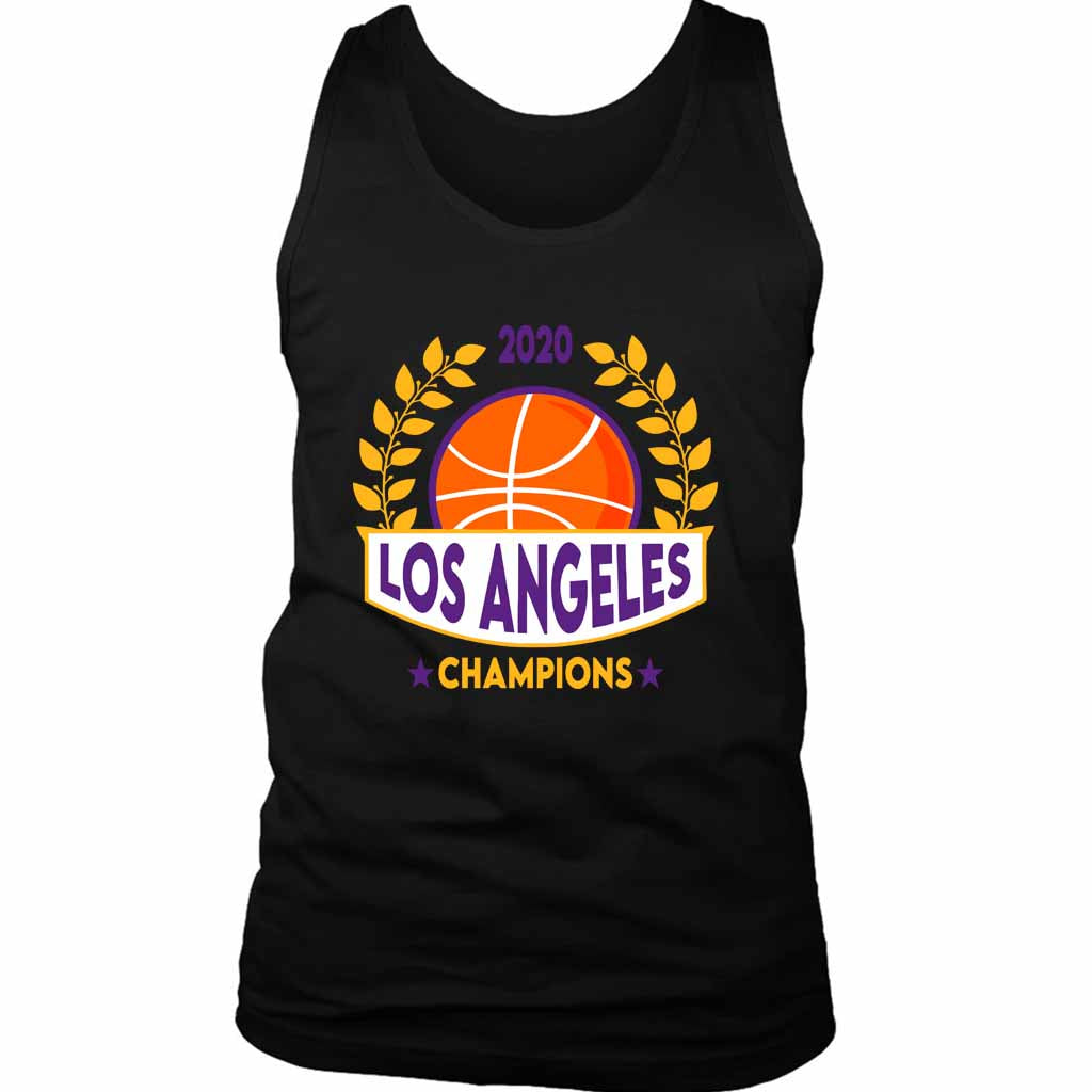 Los Angeles Basketball Champions Lakers Champions Lakers Men's Tank Top - Nuu Shirtz