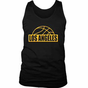 Los Angeles Lakers Men's Tank Top - Nuu Shirtz