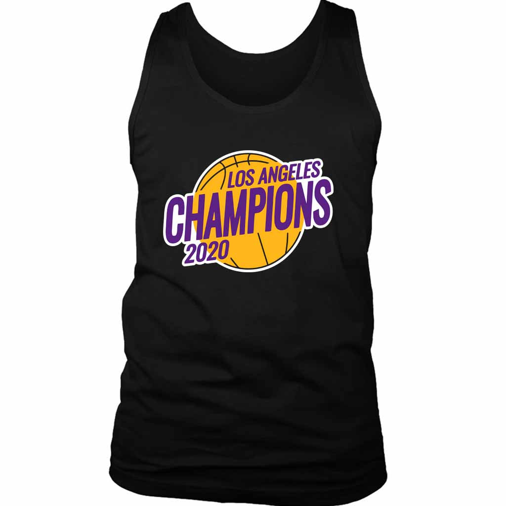 Los Angeles Lakers Championship 2020 Lakers Men's Tank Top - Nuu Shirtz