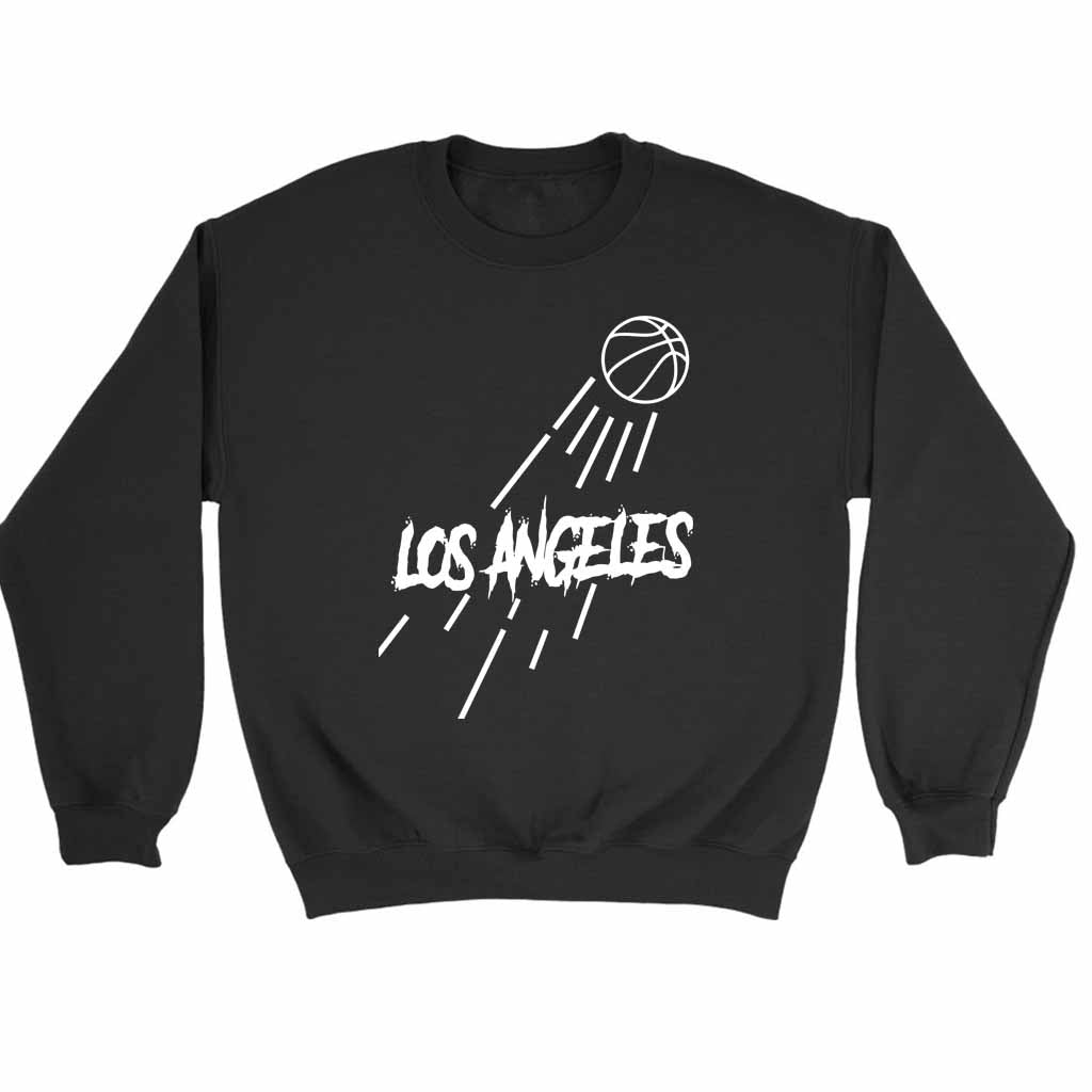 Los Angeles Lakers Jump Sweatshirt Sweater - Nuu Shirtz