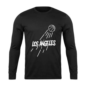Los Angeles Lakers Jump Long Sleeve - Nuu Shirtz