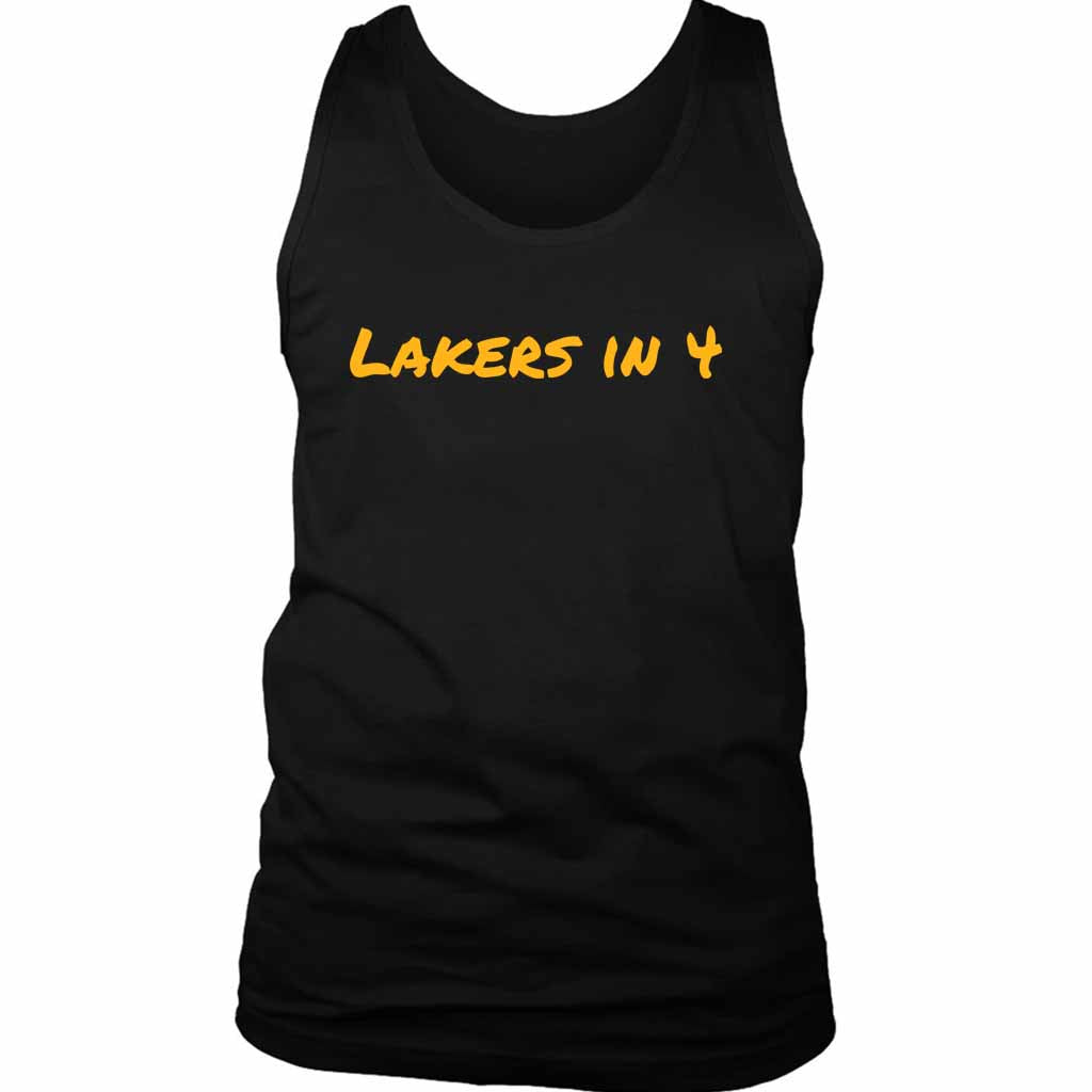Los Angeles Lakers Playoff Statement Lakers Men's Tank Top - Nuu Shirtz